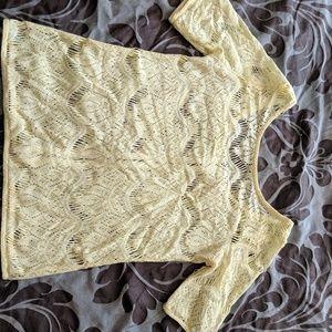 Lace shirt 😍
